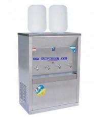 ตู้ทำน้ำเย็น MAXCOOL แม็คคูล รุ่น MC-4P_SP ถังคว่ำ 4 ก๊อก 2 ถัง (แผงรังผึ้ง) A8XXX