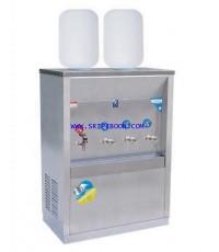 ตู้ทำน้ำเย็น-น้ำร้อน MAXCOOL แม็คคูล MCH-4P_SP ถังคว่ำ 4 ก๊อก (ร้อน1 เย็น3) 2 ถัง (แผงรังผึ้ง) EE7XX