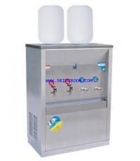 ตู้ทำน้ำเย็น-น้ำร้อน MAXCOOL แม็คคูล MCH-4P_SP ถังคว่ำ 4 ก๊อก (น้ำร้อน2 น้ำเย็น2) 2 ถัง (แผงรังผึ้ง)