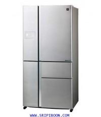 ตู้เย็น SHARP ชาร์ป 5 ประตู รุ่น SJ-FX850TP-SL ขนาด 24.4 คิว บริการส่งถึงบ้าน!.