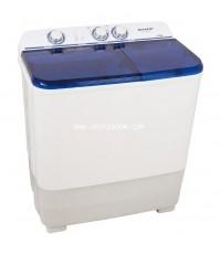 เครื่องซักผ้า SHARP ชาร์ป รุ่น ES-TT80T-BL ถังซัก 8 กิโล , ความจุถังปั่น 5.6 กิโล