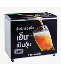 ตู้แช่ เนื้อสด ตู้แช่เบียร์วุ้น Soft Freezer PANASONIC พานาโซนิค SF-BF900 ขนาด 9.5 คิว .