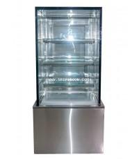 ตู้แช่เค๊ก, ตู้เค๊ก กระจกเหลี่ยม TOKKI กระต่าย รุ่น TKK-150QS ขนาดยาว 150 ซ.ม. (สูง 130 ซ.ม.)