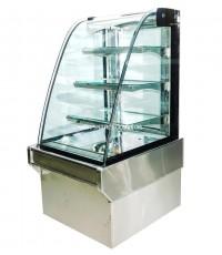 ตู้แช่เค๊ก, ตู้เค๊ก กระจกโค้ง TOKKI กระต่าย รุ่น TKK-70C ขนาดยาว 70 ซ.ม. (ชั้นอลูมิเนียม)