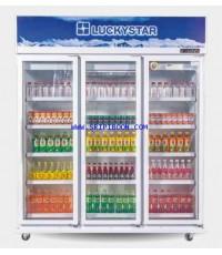 ตู้แช่เครื่องดื่ม LuckyStar ลักกี้สตาร์ CANYON 312N ขนาด 42 คิว บริการจัดส่งถึงบ้าน!.ฟรี