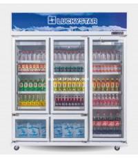 ตู้แช่เย็น LuckyStar ลักกี้สตาร์ รุ่น CANYON F512N ช่องแช่เย็น 34 แช่แข็ง 6 คิว โทร.02-8050094-5