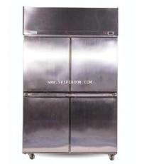 ตู้แช่เย็น LuckyStar ลักกี้สตาร์ BROMO C412 ความจุ 42 คิว (ตู้แช่เย็นแบบยืน ตู้สแตนเลส) 1-10 องศา c
