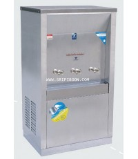 ตู้ทำน้ำเย็น แบบ ต่อท่อประปา MAXCOOL แม็คคูล รุ่น MC-3PW (ก๊อกตุ๊กตา) แบบแผงความร้อน AUUXX