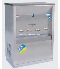 ตู้ทำน้ำเย็น แบบ ต่อท่อประปา MAXCOOL แม็คคูล รุ่น MC-4PW (ก๊อกตุ๊กตา) แบบแผงความร้อน A7AXX