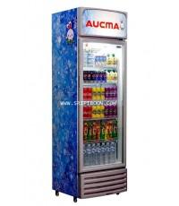 ตู้แช่เครื่องดื่ม AUCMA อ๊อกม่า SC-385 ขนาด 14 คิว บริการจัดส่งถึงบ้าน!.ฟรี สอบถามโทร. 02-8050094-5