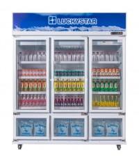 ตู้แช่เย็น LuckyStar ลักกี้สตาร์ รุ่น CANYON F612N ช่องแช่เย็น 30 แช่แข็ง 9 คิว