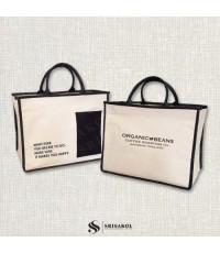 กระเป๋าผ้าแคนวาส รหัส A2130-13B