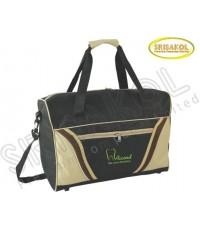 กระเป๋าเดินทาง สีดำ สลับ สีกากี รหัส A1836-17B