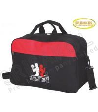 กระเป๋าเดินทาง สีดำ สลับ สีแดง รหัส A1847-14B