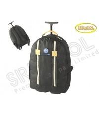 กระเป๋าเป้ล้อลาก สีดำ  รหัส A1834-4B