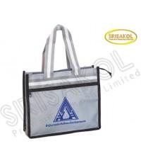 กระเป๋าช้อปปิ้ง สีเทา รหัส A1839-24B