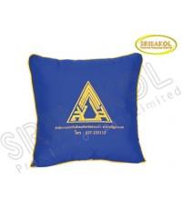 หมอนอิง ผ้าTC  สีน้ำเงิน รหัส A1839-5J