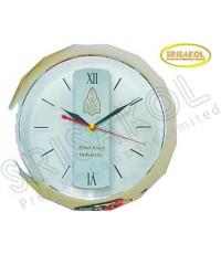 นาฬิกาแขวน 11 นิ้ว เรือนใส ขอบชุบเงิน รหัส A2044-22C