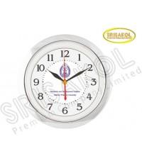 นาฬิกาแขวน 11 นิ้ว ขอบชุบเงิน รหัส A2044-4C