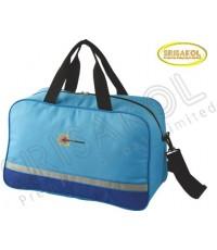 กระเป๋าเดินทาง สีฟ้า สลับ น้ำเงิน รหัส A2006-16B