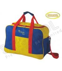 กระเป๋าเดินทาง สีเหลือง สลับ สีน้ำเงิน  รหัส A2016-17B