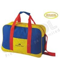 กระเป๋าเดินทาง สีเหลือง สลับ สีน้ำเงิน รหัส A2016-18B