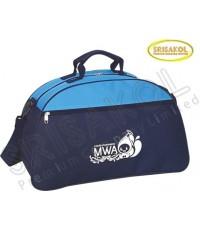 กระเป๋าเดินทาง สีกรมท่า สลับ สีฟ้า  รหัส A2017-4B