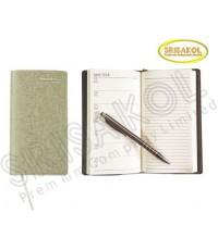 สมุด Diary A8 (ปก PU) รหัส A1918-18D