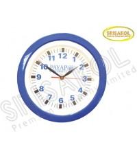 นาฬิกาแขวน 11 นิ้ว ขอบสีน้ำเงิน รหัส A2044-8C