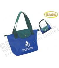 กระเป๋าช้อปปิ้งพับเก็บได้  สีน้ำเงิน รหัส A1930-5B