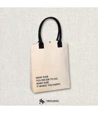 กระเป๋าผ้าแคนวาส รหัส A2130-8B