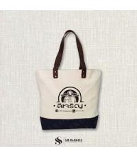 กระเป๋าผ้าแคนวาส รหัส A2130-6B
