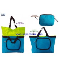 กระเป๋าชอปปิ้ง พับเก็บได้ และขยายได้ รุ่น 13-2010 (51266)