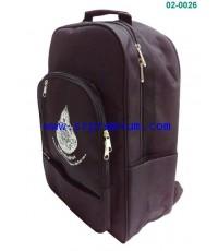 กระเป๋านักรียนเป้สะพาย 02-0026 (825F3)