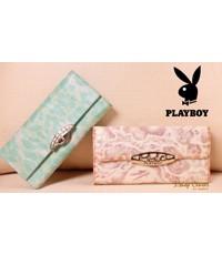 กระเป๋าเงินหนังแท้ Play boy
