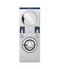 SPEEDKING เครื่องซักผ้าหยอดเหริยญ2ชั้นแบบไฟฟ้าอุตสาหกรรม 23kg