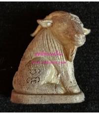 แพะเหลียวหลังหล่อโบราณรุ่นแรก (แพะรุ่น 3) เนื้อทองชนวนหล่อตัน เททองนำฤกษ์ (กรรมการ)