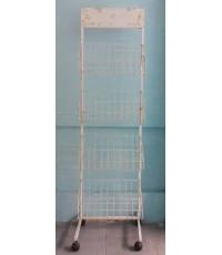 ขายชั้นวางหนังสือ - ชั้นวางของสารพัดประโยชน์ 4 ชั้น (มีล้อ)