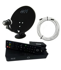 PSI S2 HD ชุดจานดาวเทียม PSI OK-X 35cm. + กล่องรับสัญญาณดาวเทียม PSI S2 HD