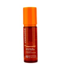 Lancaster - น้ำมันปรับผิวแทน Sun Beauty Satin Sheen SPF 30 - 150ml/5oz
