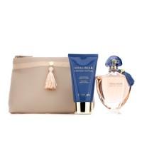 Guerlain - ชุด Shalimar Parfum Initial Coffret: สเปรย์น้ำหอม EDP 60ml/2oz + โลชั่นทาผิวกาย Delicate