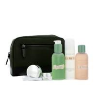 ลา แมร์ - ชุด Essentials :เจลทำความสะอาดผิว 100ml + โทนิค 100ml + โลชั่นมอยซ์เจอไรเซอร์ 50ml + บาล์ม