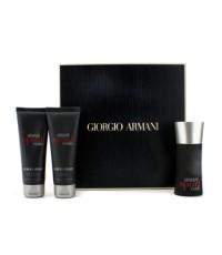 จีออร์จีโอ อาร์มานี่ - Armani Code Sport Coffret: Eau De Toilette Spray 50ml/1.7oz + Shower Gel 75ml