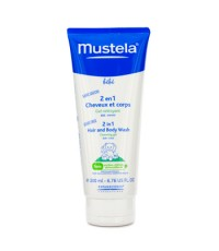 Mustela - ทำความสะอาดผมและผิวกาย 2 อิน 1 - 200ml/6.76oz