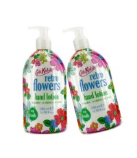 Cath Kidston - Retro Flowers Hand Lotion Duo Pack - 2x500ml/16.9oz