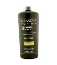 เคเรสตาส - แชมพูทรีทเม้นต์ดูแลเส้นผมประจำวัน Homme Capital Force (Vita-Energising Effect) - 1000ml/3