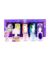 แอนนา ซุย - Miniature Coffret: Dolly Girl + Fairy Dance + Flight Of Fancy + Forbidden Affair + Secre