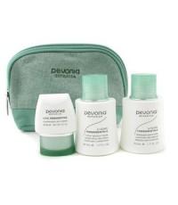 Pevonia Botanica - ชุด Your Skincare Solution (ผิวผสม) :คลีนเซอร์ 50ml + โลชั่น 50ml + ครีม 20ml + ก