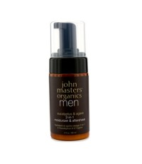 John Masters Organics - มอยซ์เจอไรเซอร์และบำรุงหลังการโกน Men Eucalyptus & Agave 2-In-1 - 89ml/3oz