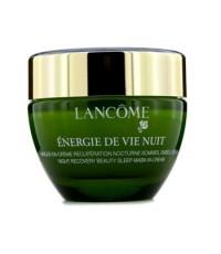 ลังโคม - Energie De Vie Nuit - ครีมมาสก์บำรุงผิวระหว่างนอน Night Recovery Beauty (ทุกสภาพผิว)  - 50m